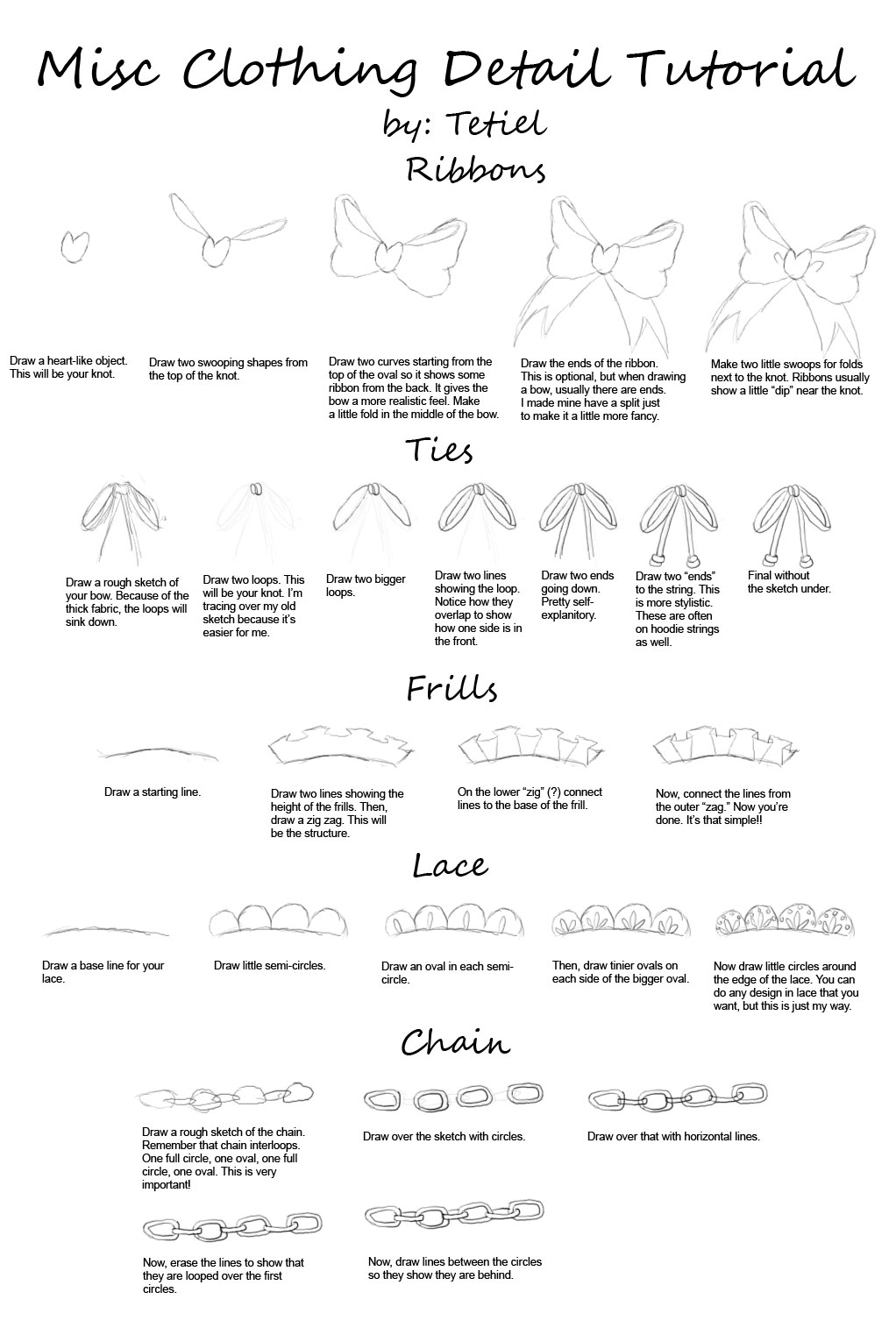 Misc Clothing Detail Tutorial By Tetiel Female Bodies By Mickykiantart How  To Draw Folds