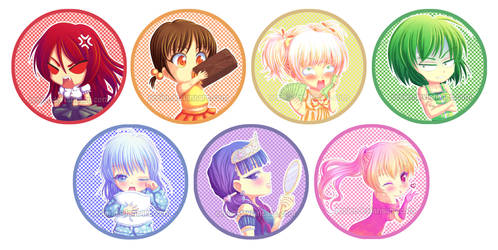 The Seven Deadly Chibis