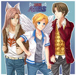 Guys of Rising Angels by Tetiel