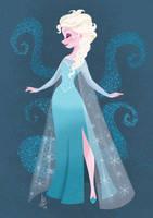Queen Elsa by Inehime