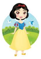Snow White by Inehime