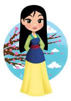 Mulan by Inehime