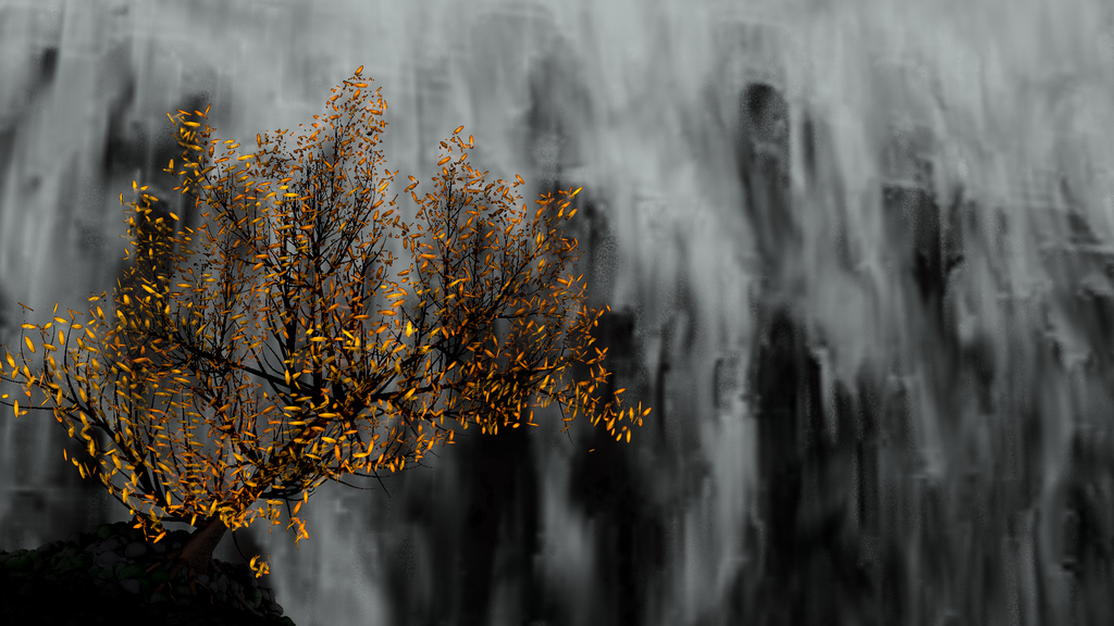 Waterfall by IconoKlasm