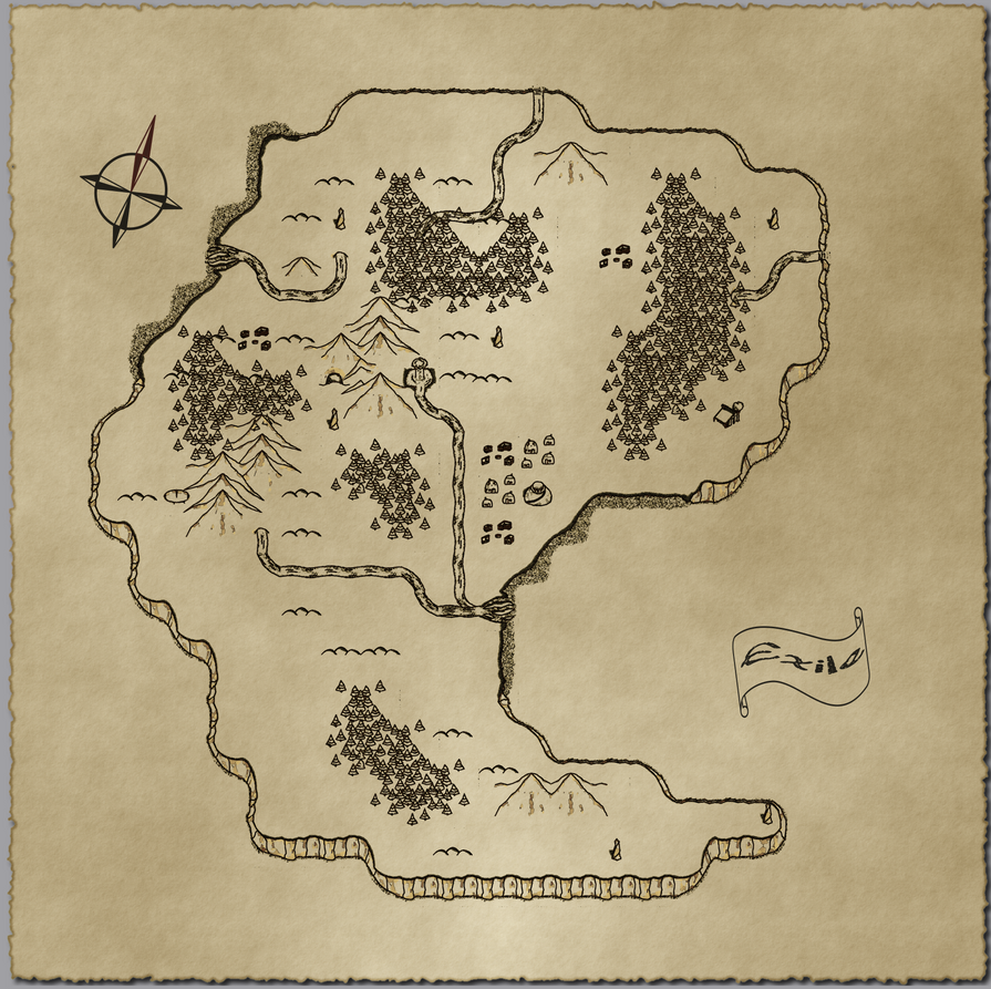 Exile Map by IconoKlasm