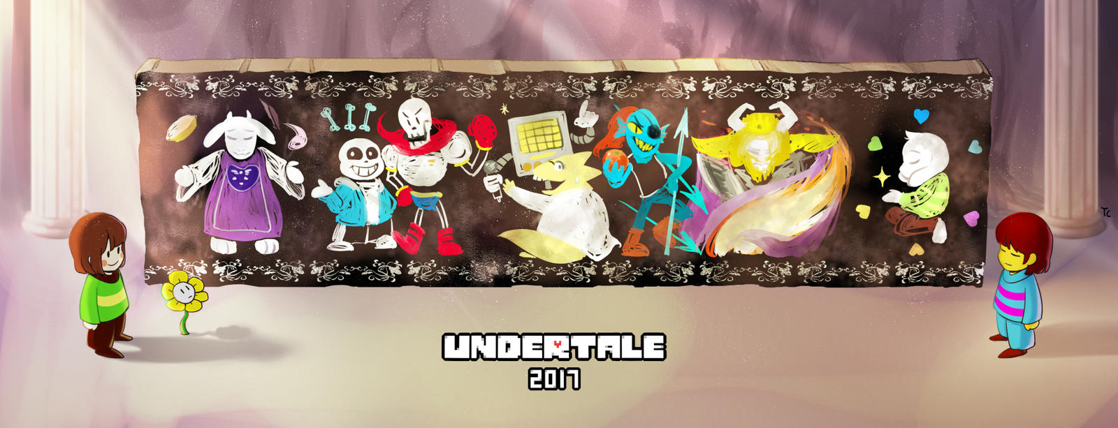 Undertale Anniversary 2017 by Triangle-cat