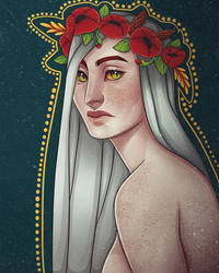 Flower crown by vyvilha