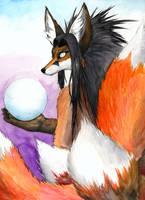 Kitsune by sebastiangreyfox