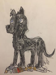 Isle of Dogs - Chief  by thefriendlycitizen