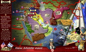 Remapping the world -ME test- by Free-Palestine