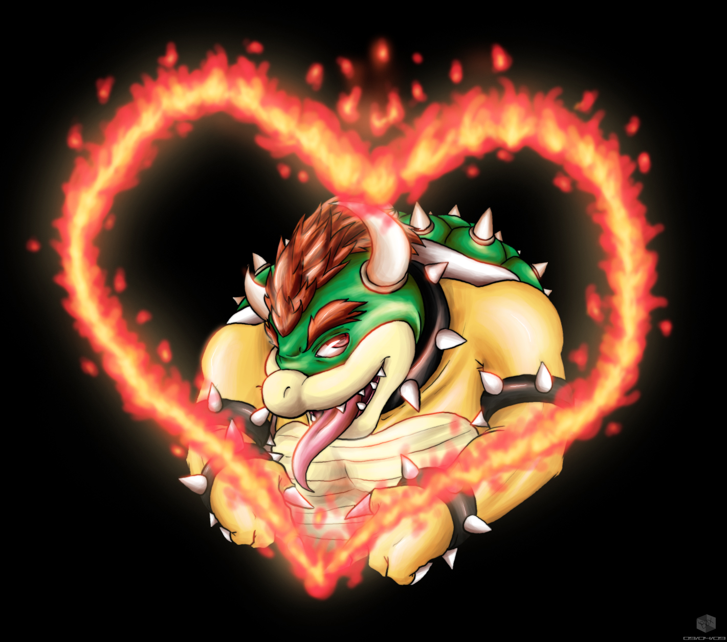 Bowser Is Hot by Scourge-Is-Awesome