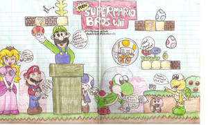 NSMB:Wii scene