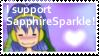 I support SapphireSparkle by Peach-X-Yoshi