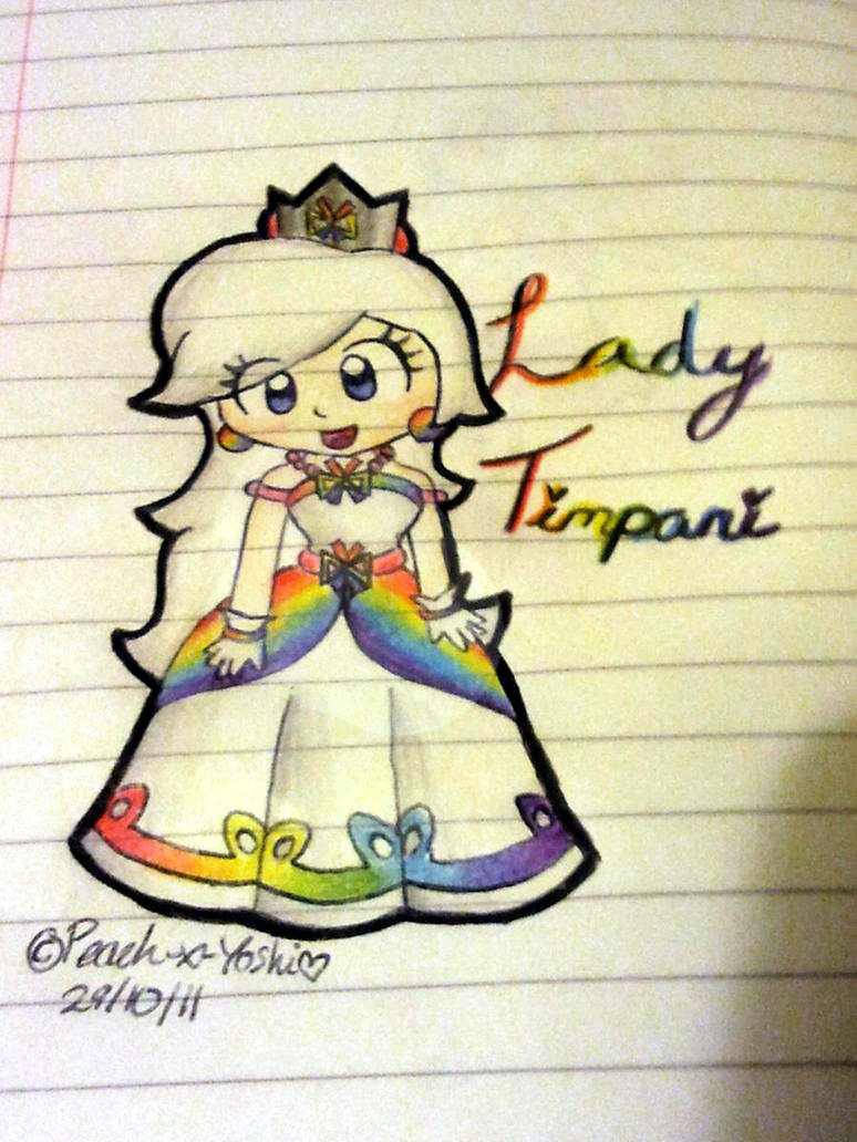 Lady Timpani - Concept by Peach-X-Yoshi on DeviantArt