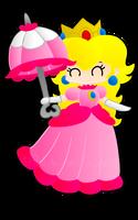 Princess Peach with Parasol by Peach-X-Yoshi