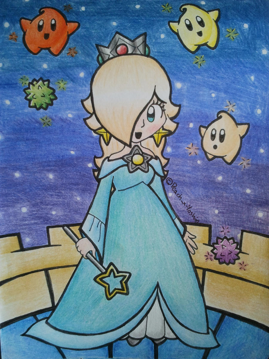 Rosalina at the Gateway by Peach-X-Yoshi