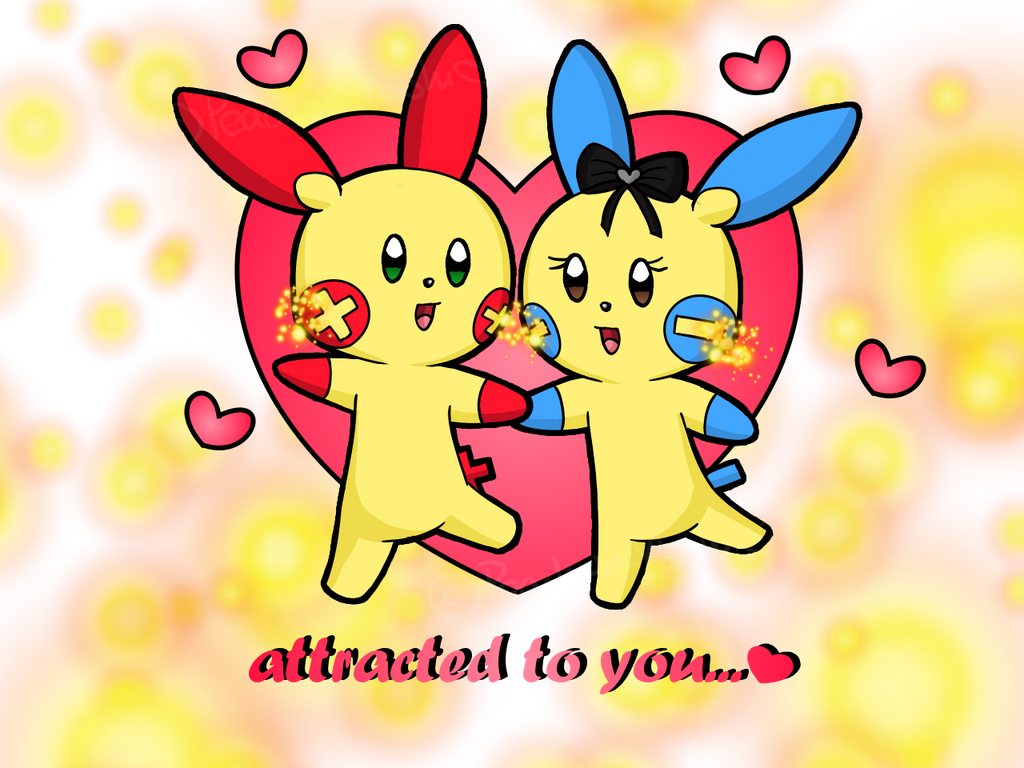 Attracted to You - Valentines day 2013 by Peach-X-Yoshi