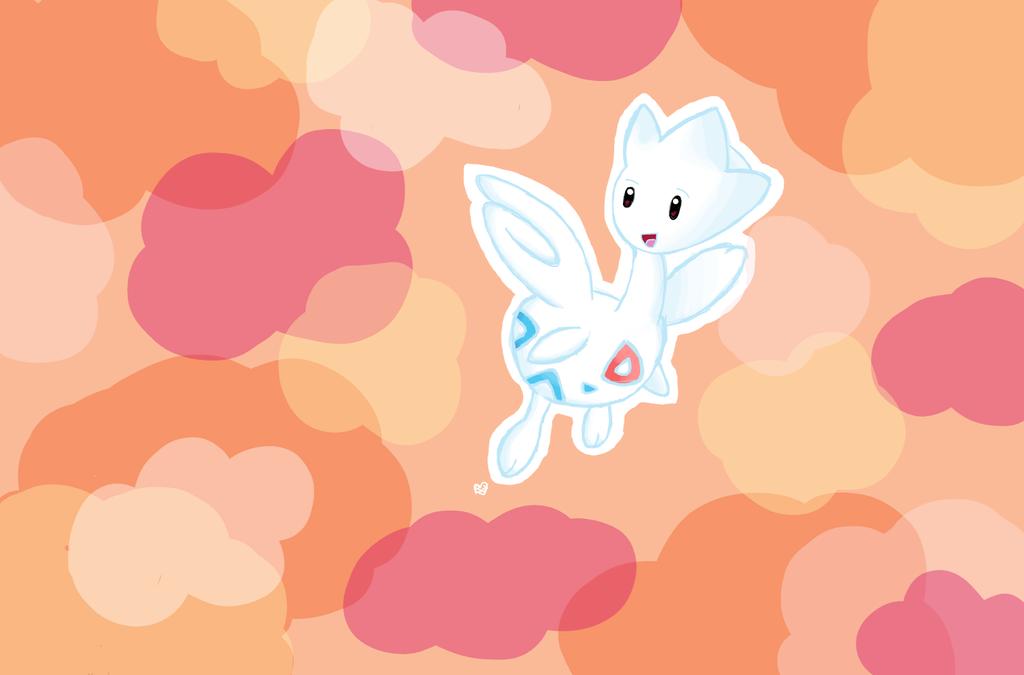 #176 - Togetic by Peach-X-Yoshi