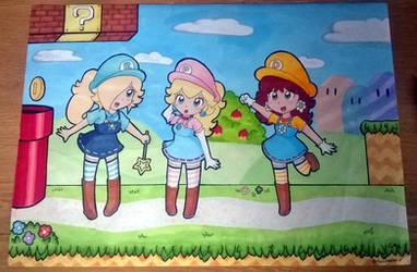 Super Princesses! by Peach-X-Yoshi
