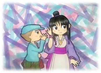 Gift: I have a secret~ by Peach-X-Yoshi