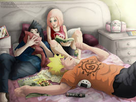 Naruto, you should be studying