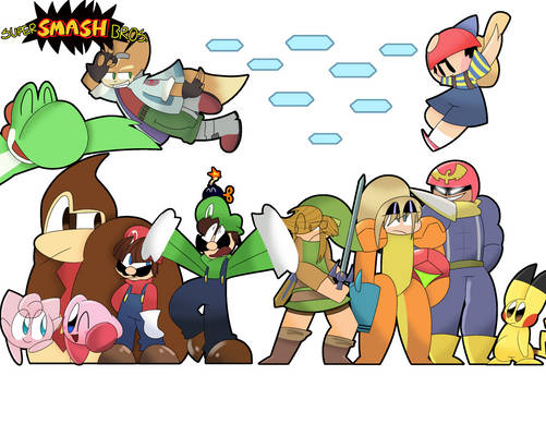 The Super Smash Bros. 64 roster is HERE!