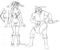 Persephone and Cassiel