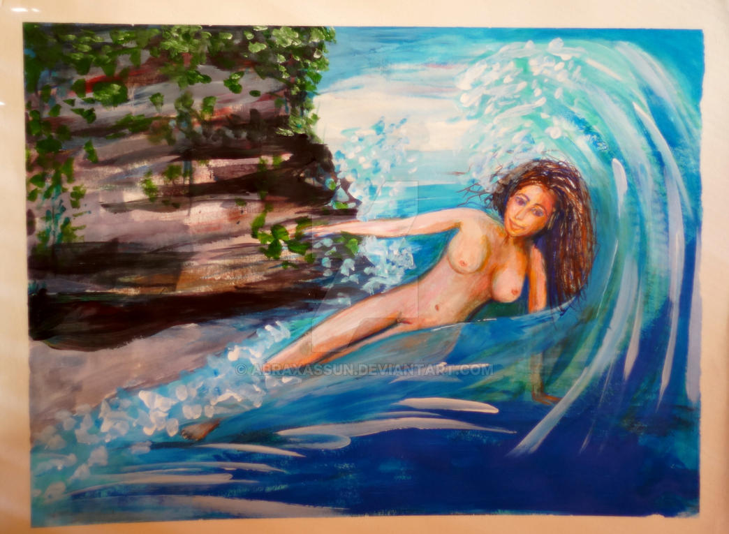 Nude Wave by oomff