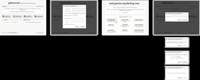 GNU Mailman New Design
