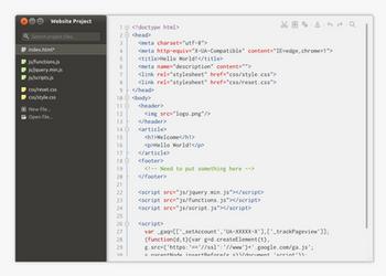 Ubuntu - Minimal Text Editor