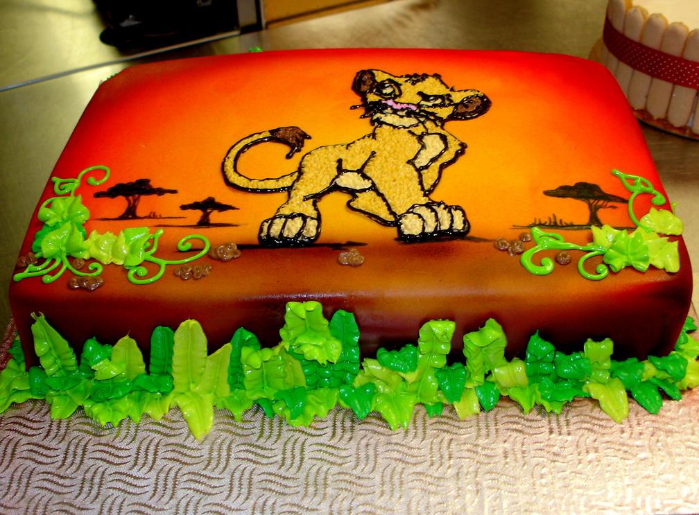 Lion King Cake Decorations Zazu