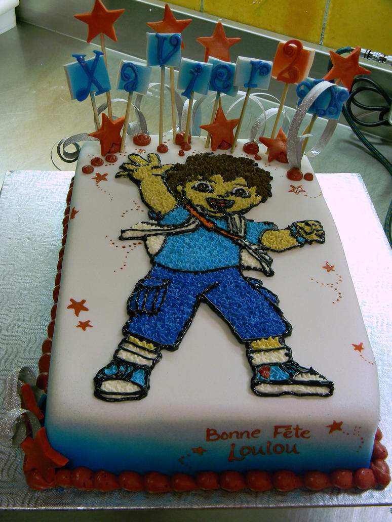Diego birthday cake by buttercreamfantasies on deviantART