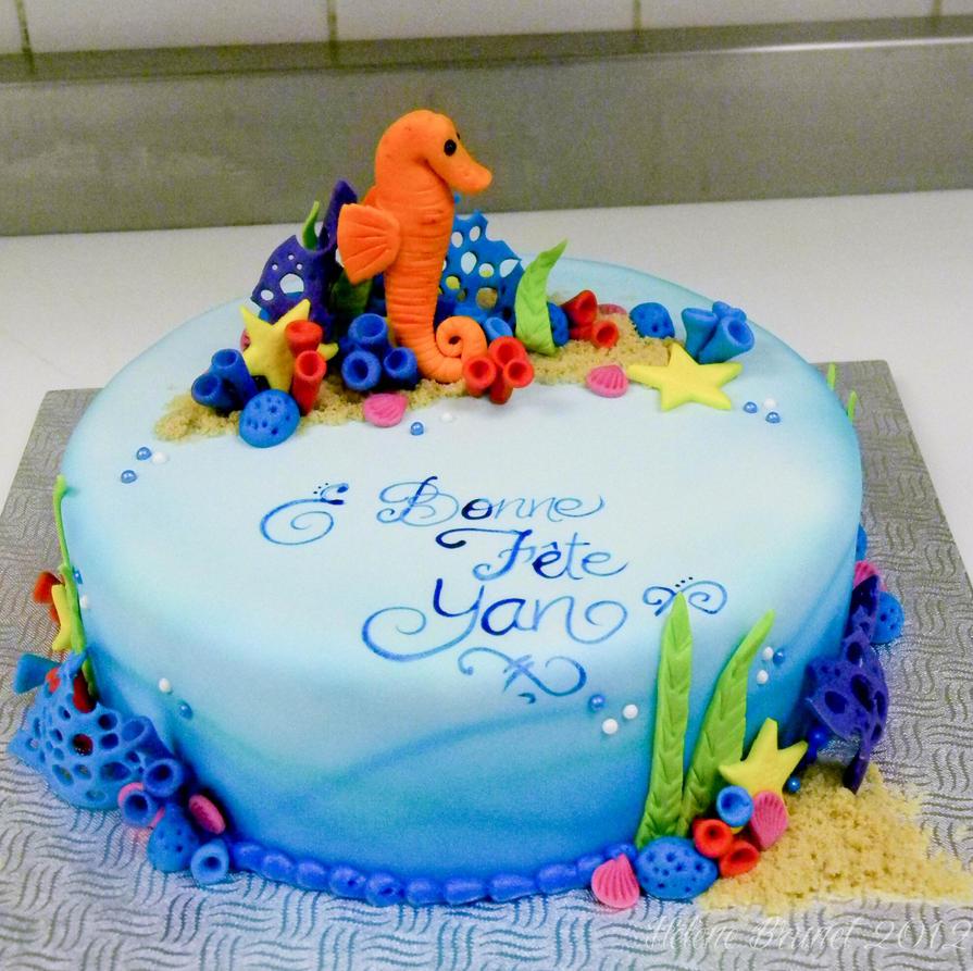 Seahorse Cake Topper in Sale   BHLDN