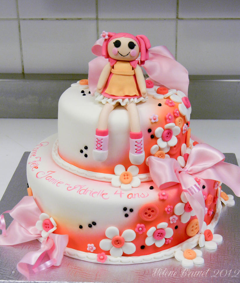 Cake Art In Pelham Al : Lallaloopsy cake by buttercreamfantasies on DeviantArt