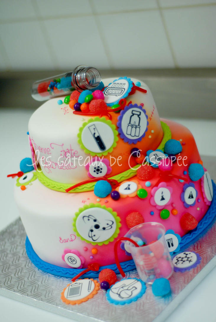 Cake Arts Bakery And Supplies : Science themed cake for a girl by buttercreamfantasies on ...