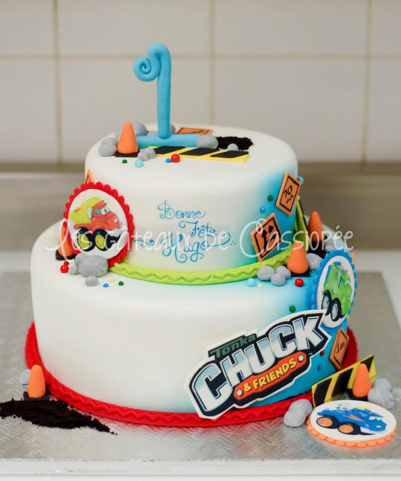 Tonka Chuck cake by buttercreamfantasies