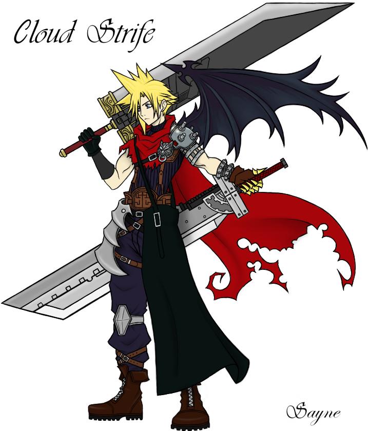 Final Fantasy Cloud Strife Wallpaper: Ultimate Cloud Strife By Sayne7 On DeviantArt
