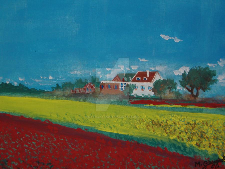 Poppies by MarziaGaggioli