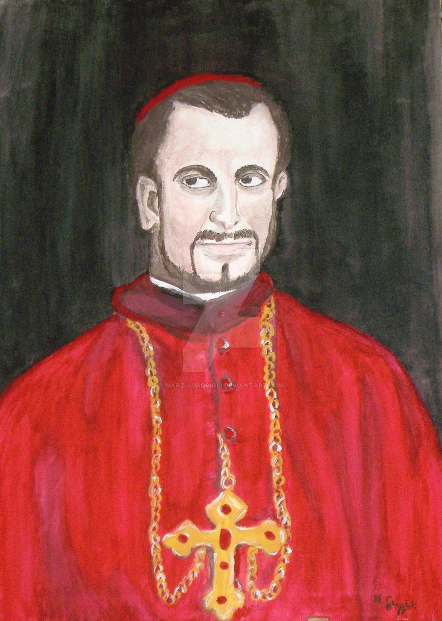 Cardinal by MarziaGaggioli