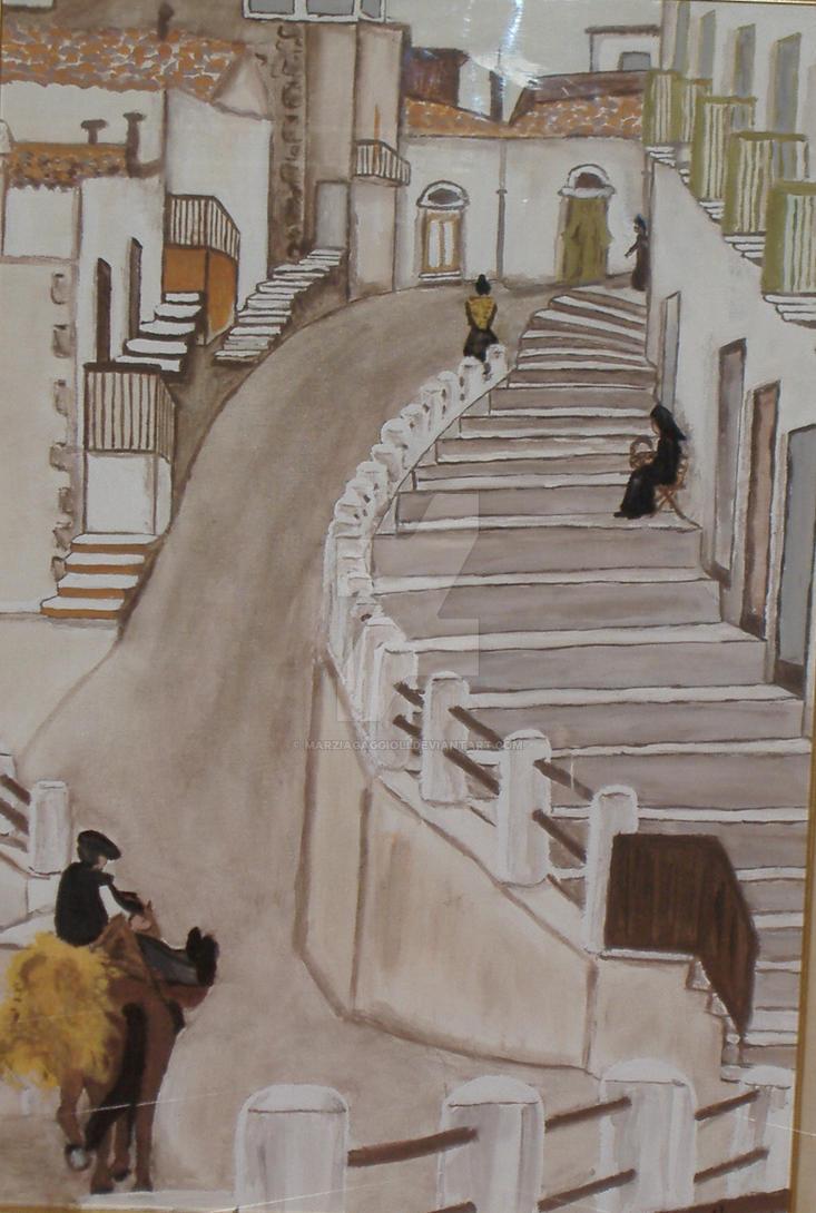Alley by MarziaGaggioli