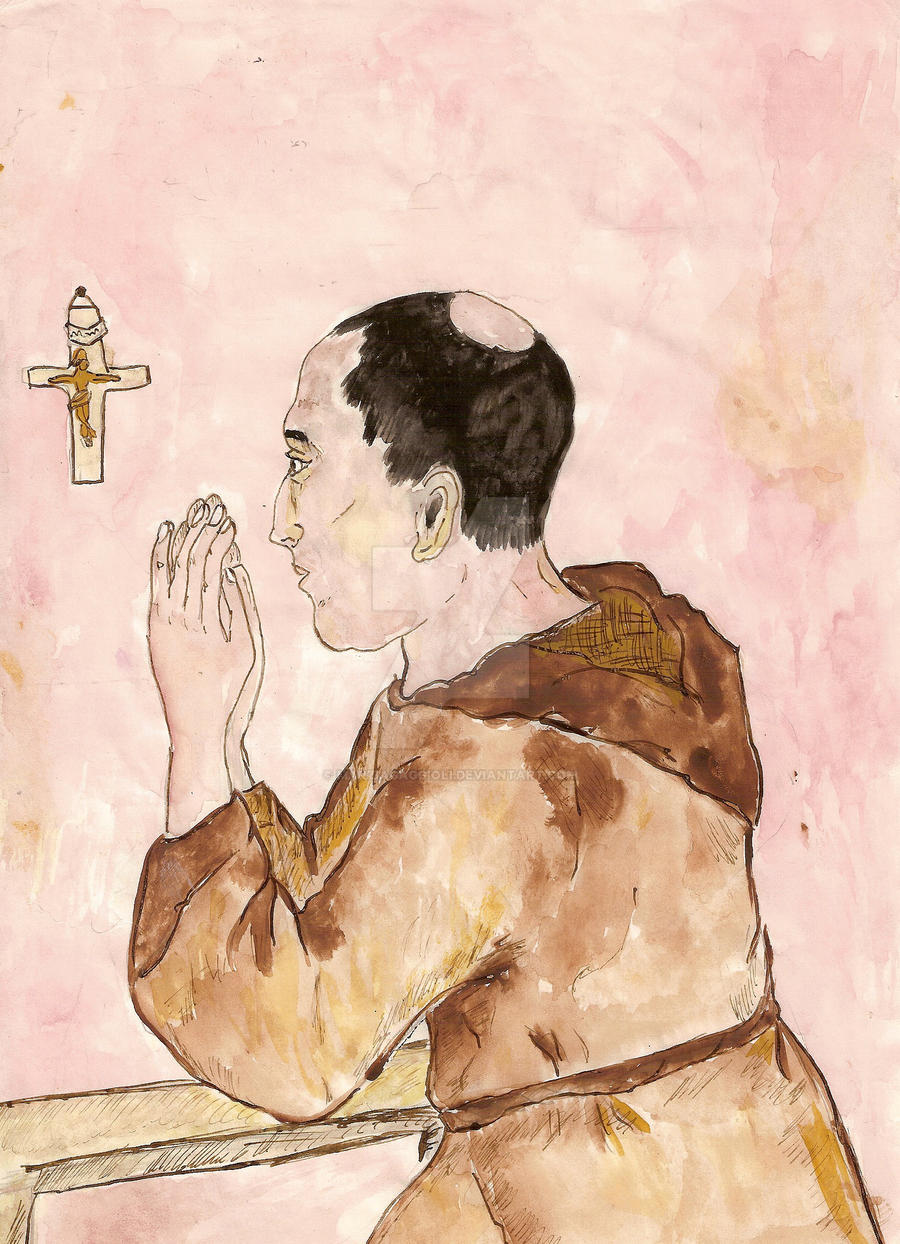The Prayer by MarziaGaggioli