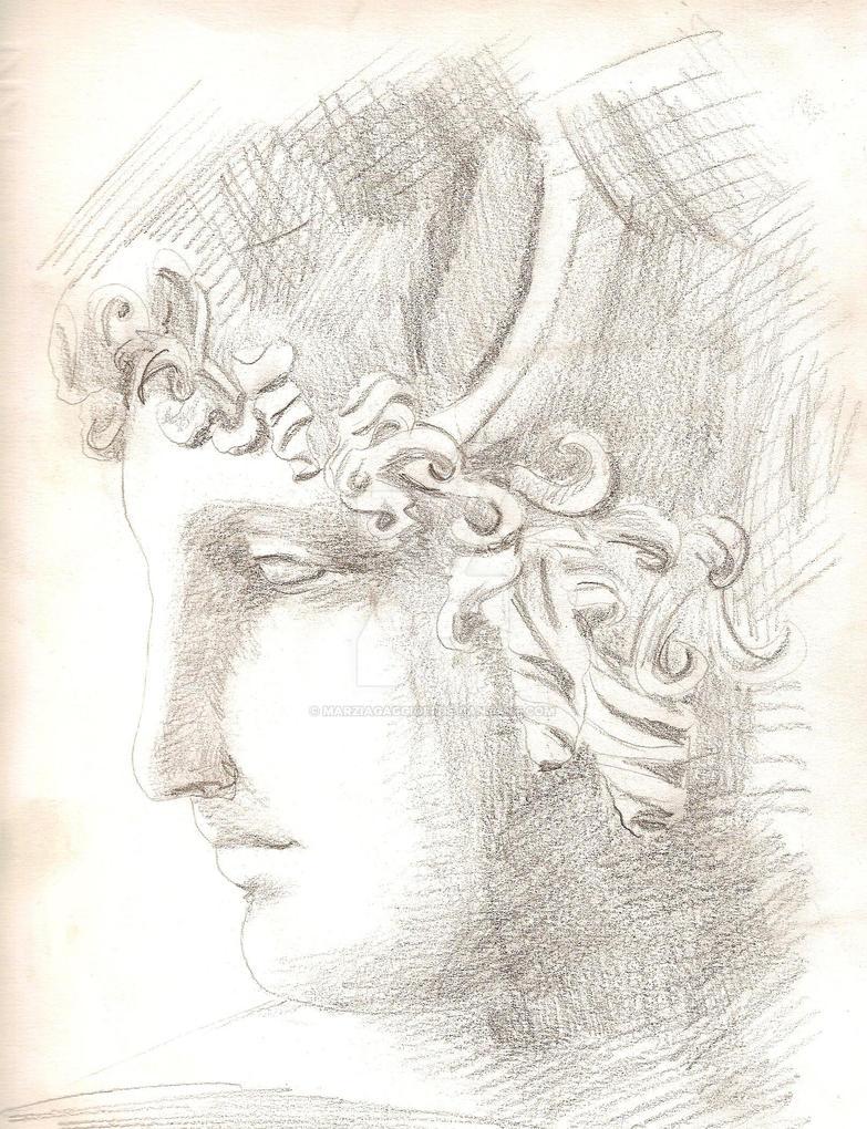 Paride's Head by MarziaGaggioli
