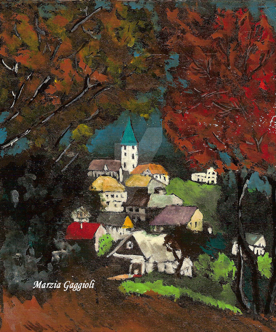 Landscape by MarziaGaggioli