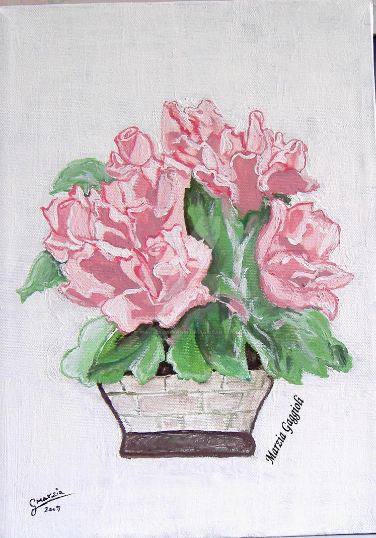 Roses by MarziaGaggioli