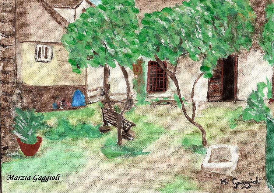 Courtyard by MarziaGaggioli