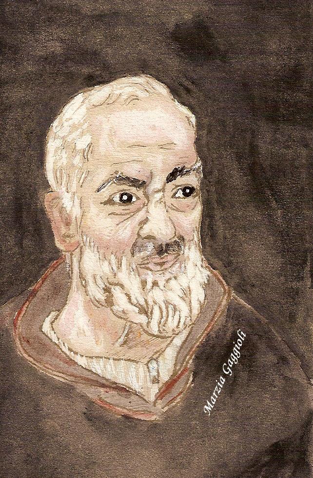 Padre Pio by MarziaGaggioli