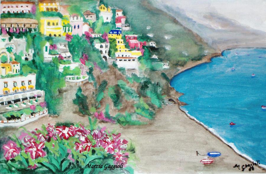 Amalfi Coast by MarziaGaggioli