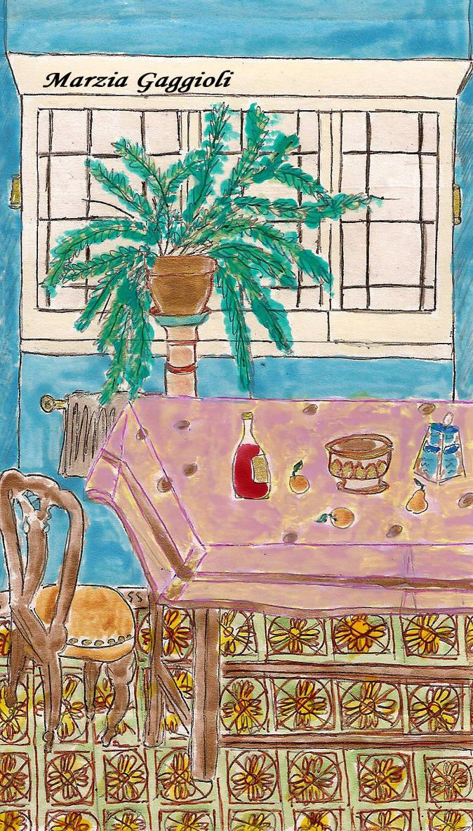 House Interior by MarziaGaggioli