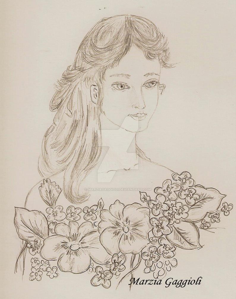 Girl by MarziaGaggioli