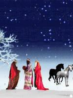Christmas Postcard by MarziaGaggioli