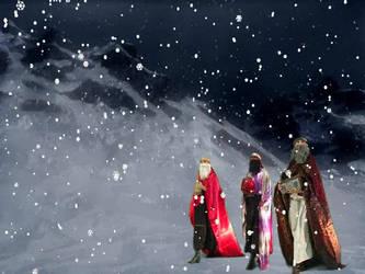 Christmas Postacard N.3 by MarziaGaggioli